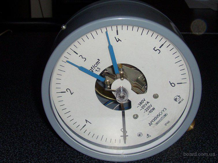 манометры, регуляторы температуры уровня, приборы КИП