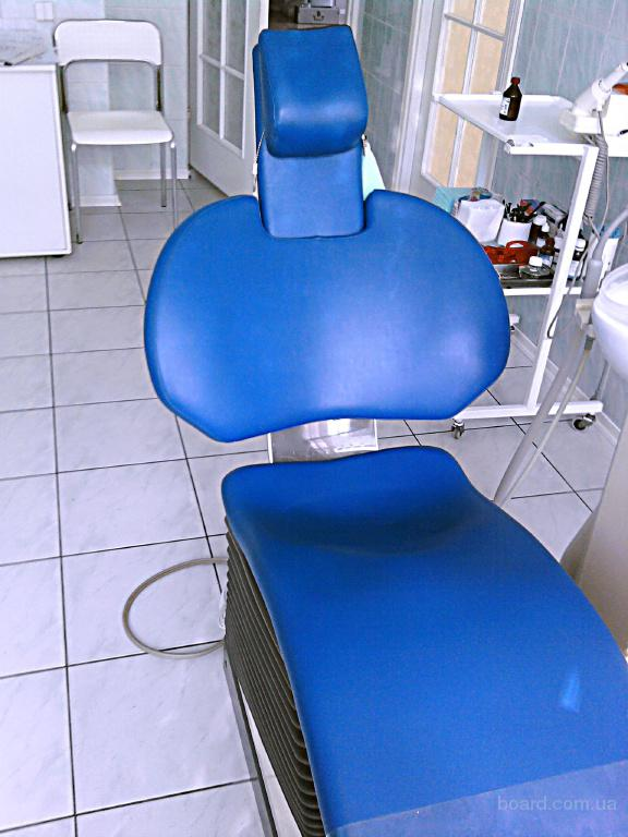 Перетяжка  обивки  стомат  кресла и стульев. Стулья для  стоматологов ,