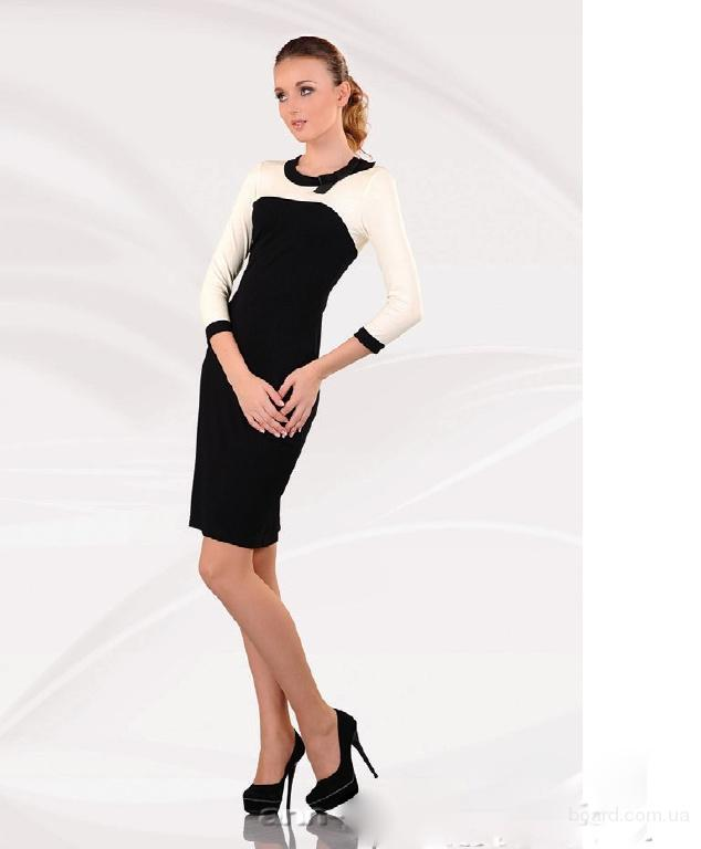 Красивое трикотажное платье. Большой выбор