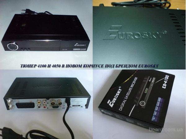 Спутниковый ресивер Eurosky ES-4100 (с модулятором) клон модели Orton 4100C обладает самым необходимым набором...