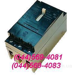 Трехполюсный автоматический выключатель А-3163 на номинальные токи работы 20, 30, 40, 50А.
