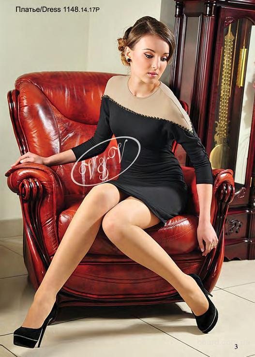 Фото: Трикотажные платья V&V новая коллекция.  Одежда, Киев, Святошин...