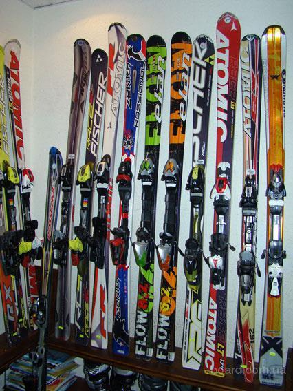 Продажа б/у лыж, ботинок, бордов.Прокат и сервис. М. Университет