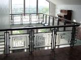 Стеклянные ограждения лестниц, террасс