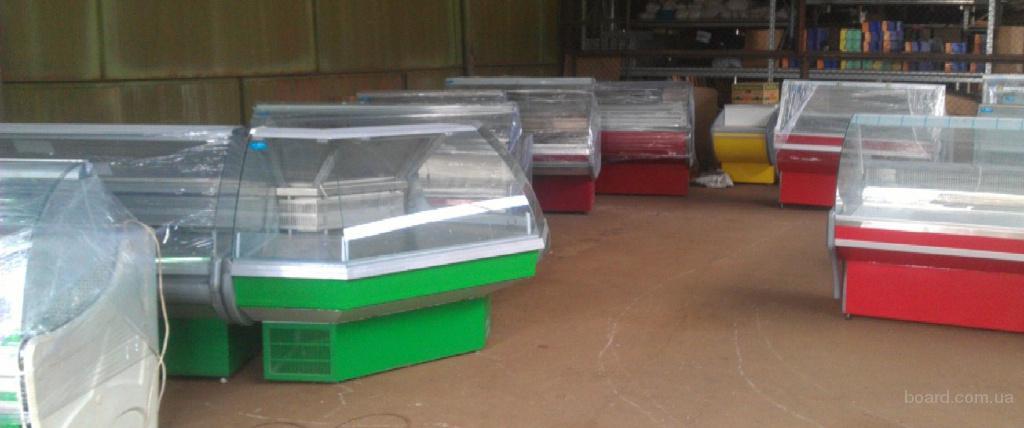 Холодильное оборудование: витрины, шкафы, лари, регалы - новые и б/у