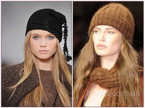 вязание женской шапки рисунком соты - Выкройки одежды для детей и...