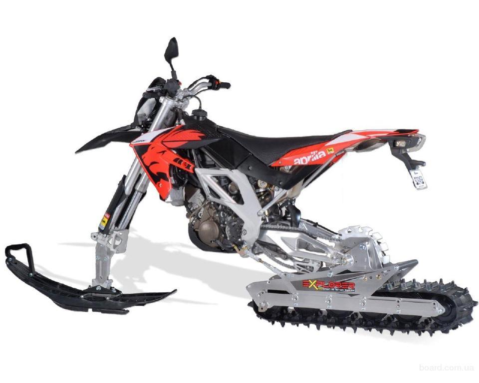 EXPLORER Canada - Гусеница и лыжа для эксплуатации мотоцикла круглый год.