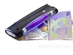Портативный денежный детектор-фонарик MD-1818