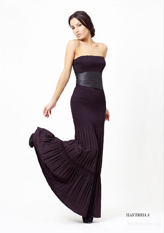 Описание: платье из плиссе с выкройками.