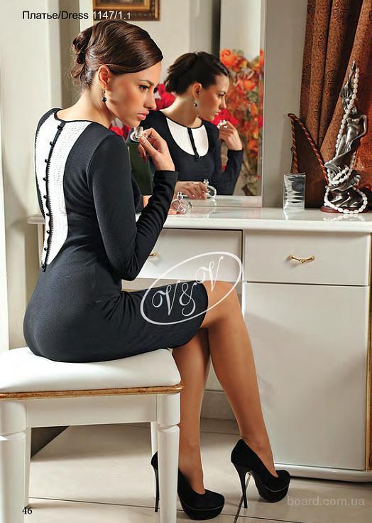 Стильное трикотажное платье. Большой выбор