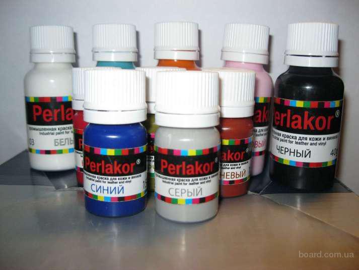 Краска для кожи perlakor