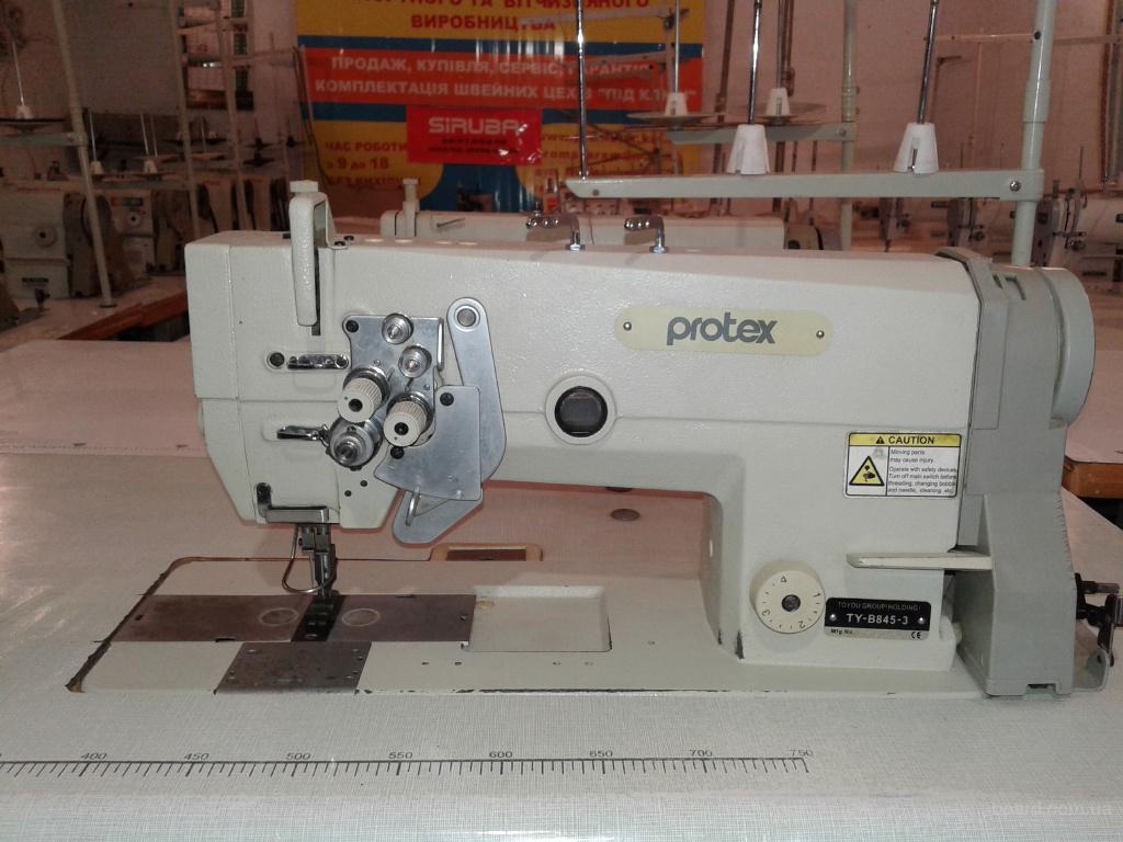 Двухигольная машина  Protex 845 , Pfaff 1242, Pfaff 422,Typikal 0056 , 852 кл.