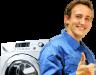 Горит замок на стиральной машине
