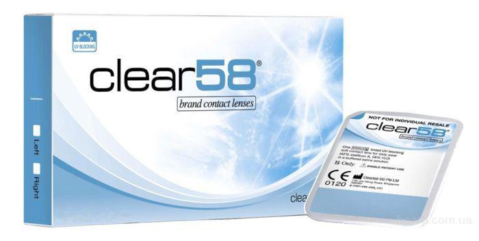 Контакные линзы Clear 58 UV