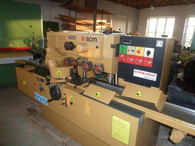 Деревообрабатывающее и мебельное оборудование б\у с Италии