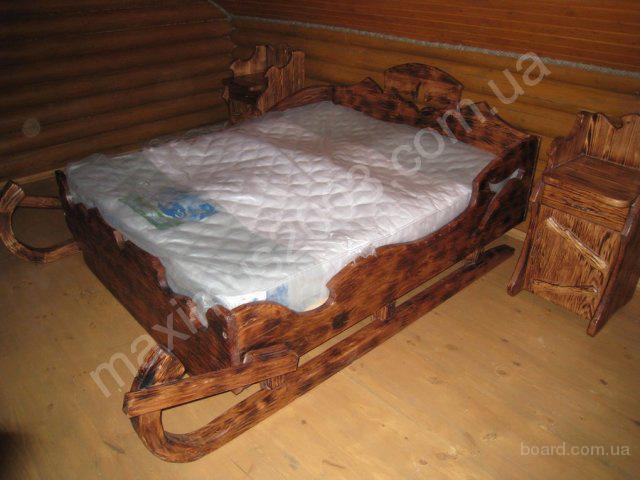 Кровати из дерева под старину - продам