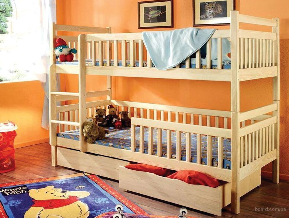 Двухъярусные кровати для детей фото 8
