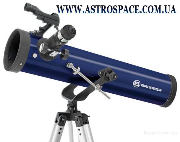 Телескоп рефлектор Bresser Junior 76 AZ+Case