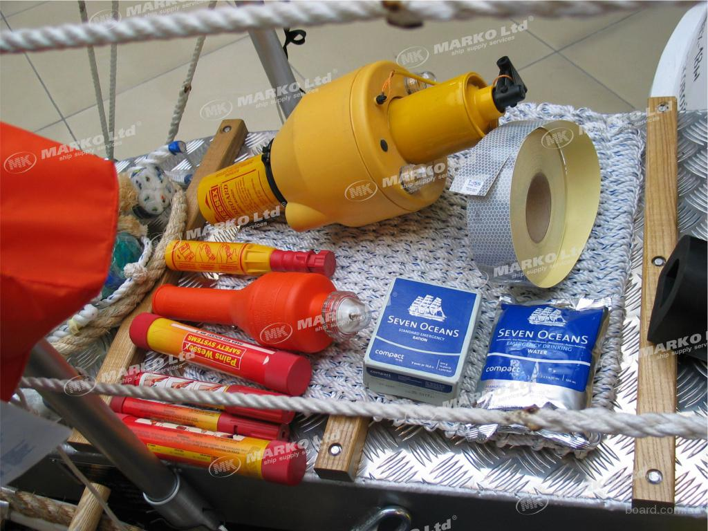 оснастка судна и оборудования