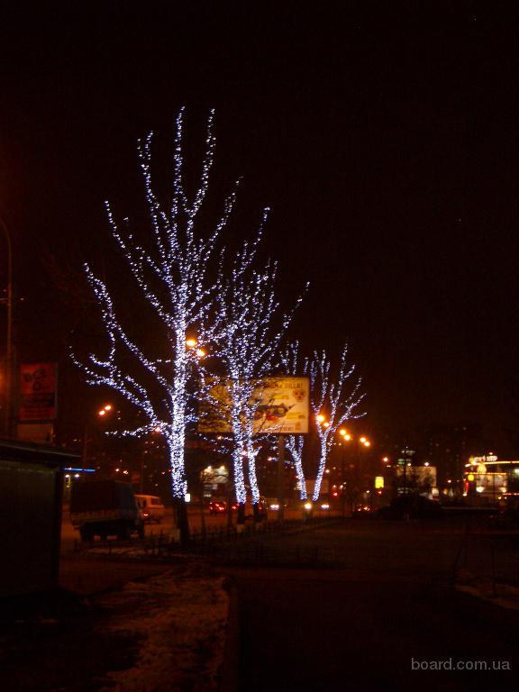Гирлянда для деревьев,на дерево,подсветка деревьев