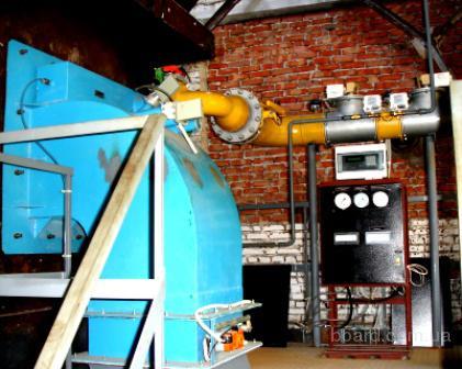 Предприятие Автоматика производит горелки газовые МДГГ с комплектом автоматики для котлов серии КВГМ.