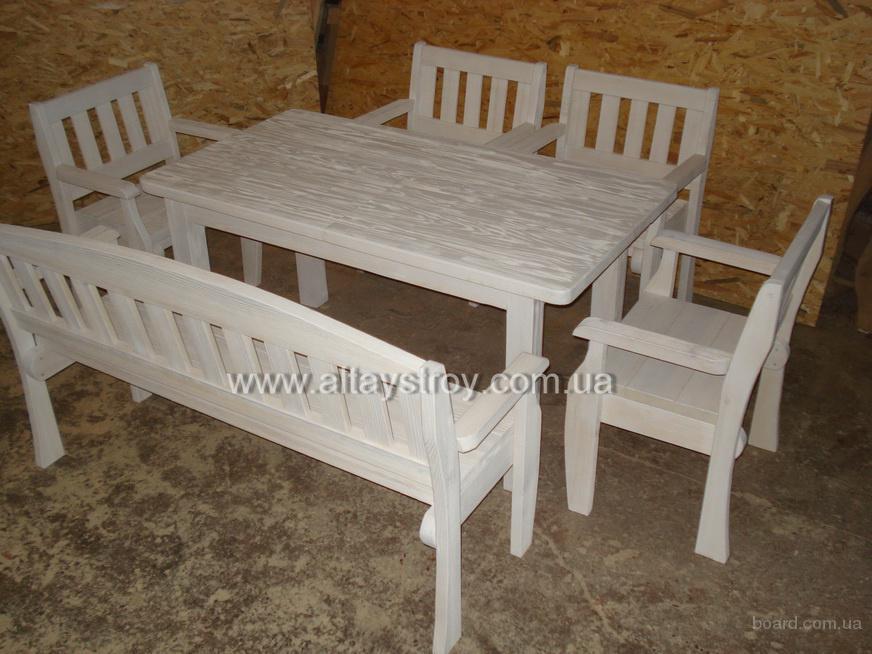 стол,скамейка, кресла. Цена - 5100грн