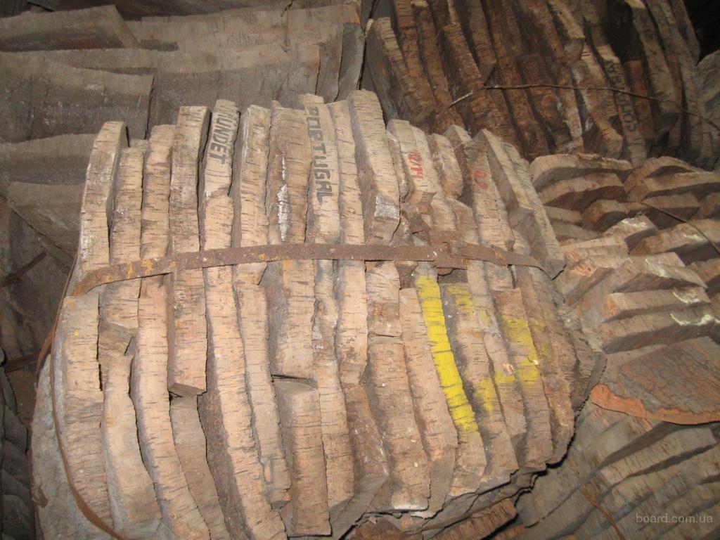 Пробковое дерево - кора пробкового дуба