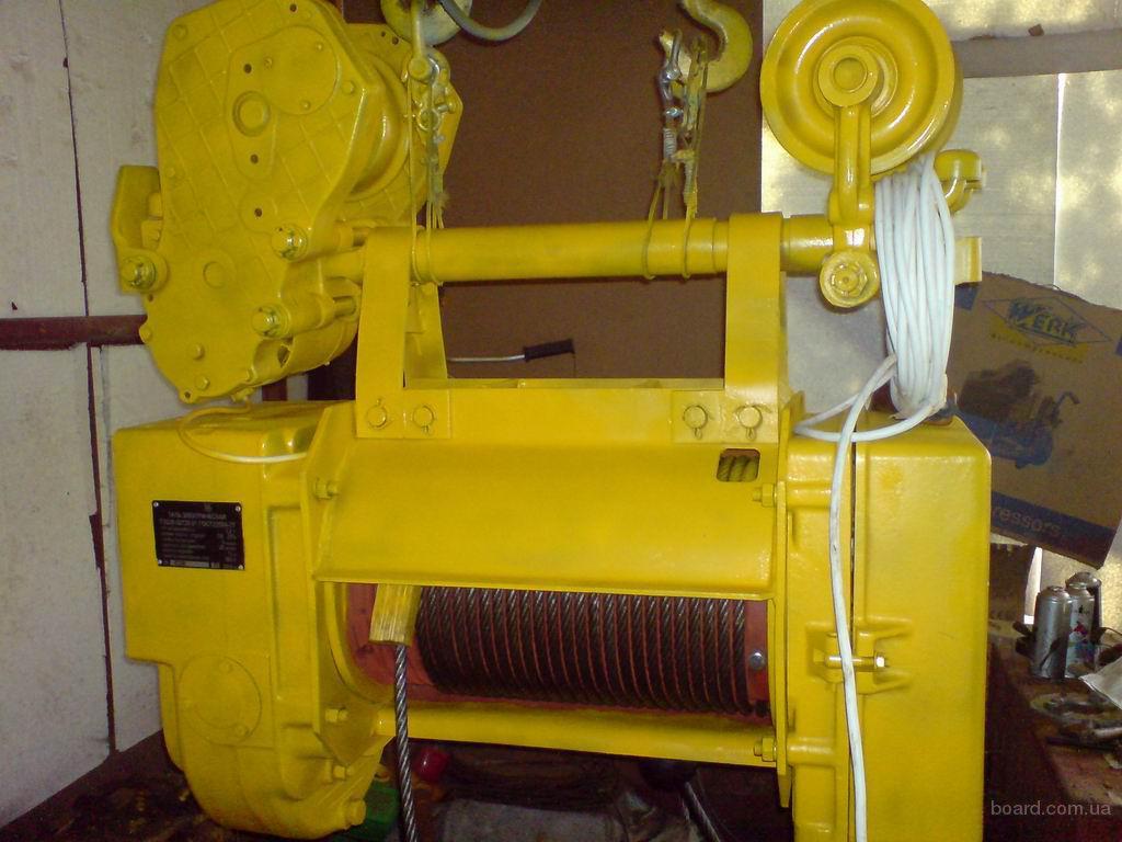 тельфер эл.таль канатные и цепные от 125 кг до 10т тали ручные передвижные и стационарные лебедки кран-балки опорные...