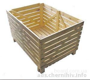 овощные контейнеры, нестандартные большие ящики деревянные