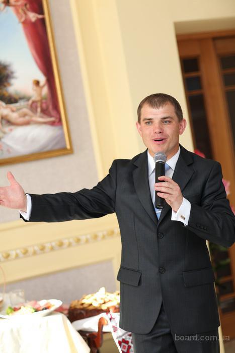 Ведущий на корпоратив, свадьбу! Тамада, музыка, dj, видео ...: http://www.board.com.ua/m1111-2000156907-veduschij-na-korporativ-svadbu-tamada-muzyika-dj.html