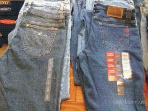 Фирменные джинсовые изделия известных брендов из США Продается партия новых...