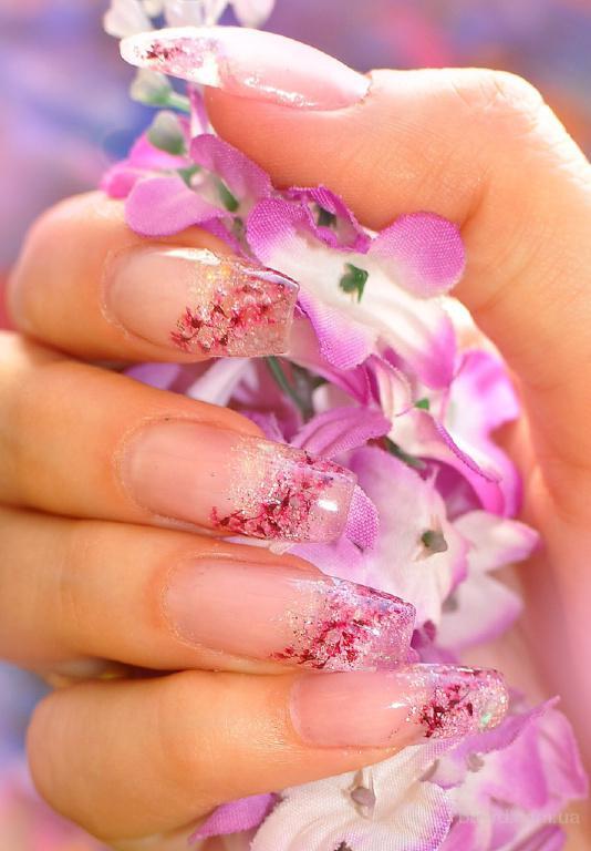 Нарощенные ногти гелевые