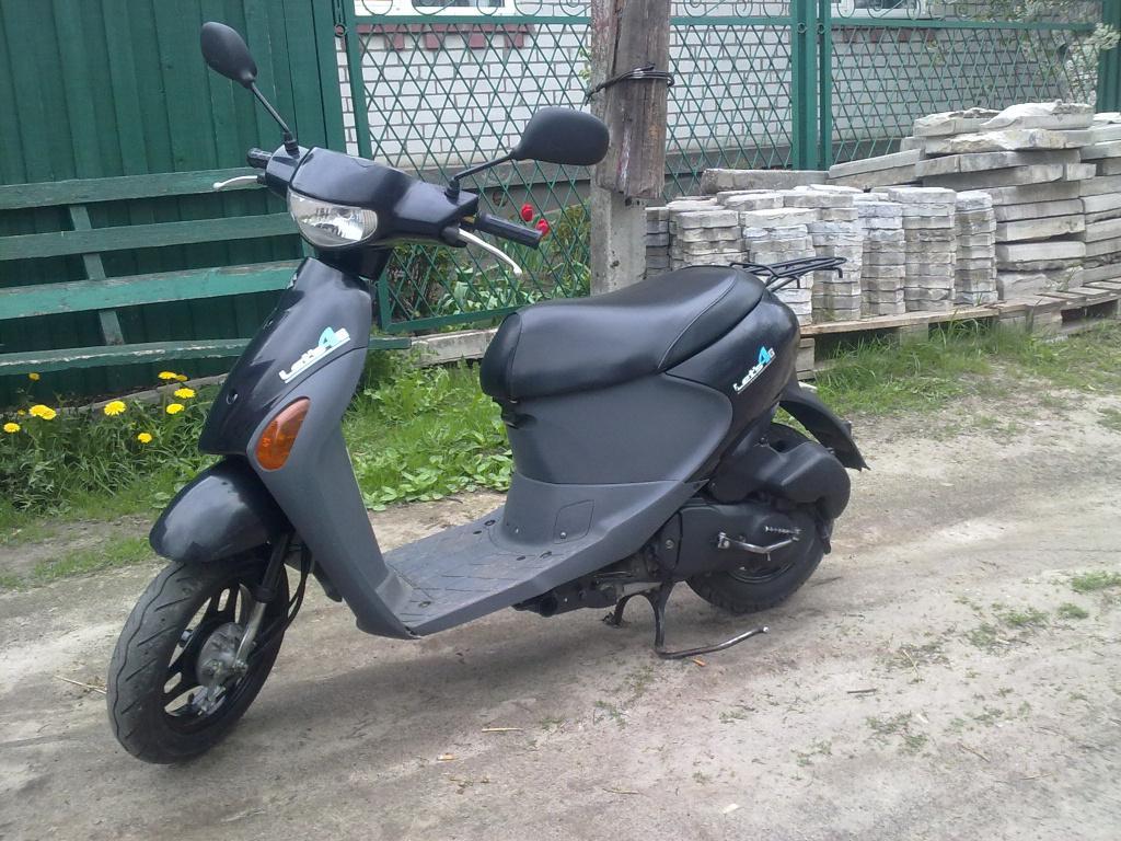 Suzuki Lets 4 ЯПОНСКИЙ четырехтактный ...