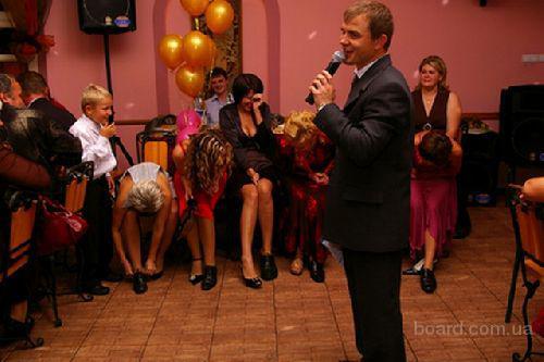 Ведущий, тамада, dj на корпоратив, юбилей, свадьбу! Киев