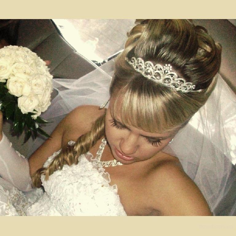 свадебные прически в украине
