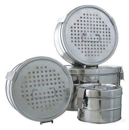 Коробки стерилизационные с фильтрами КФ-З  КФ-6  КФ-9