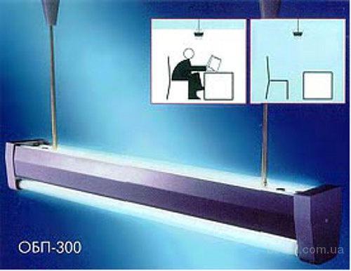 ОБП-300 бактерицидный потолочный облучатель с 4 лампами
