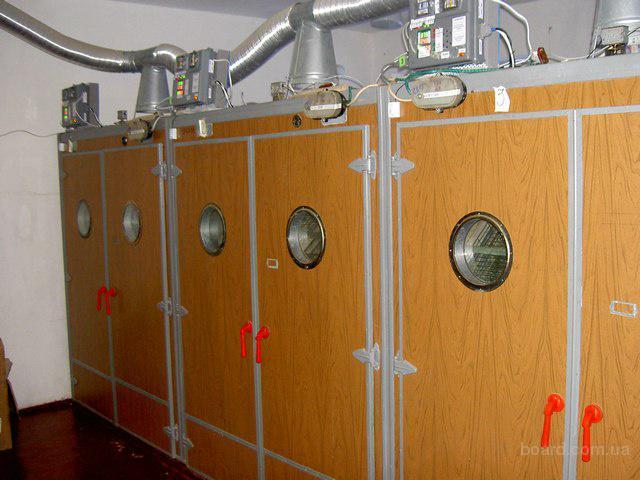 Автоматическая система управления инкубаторами.  Запорожская область.
