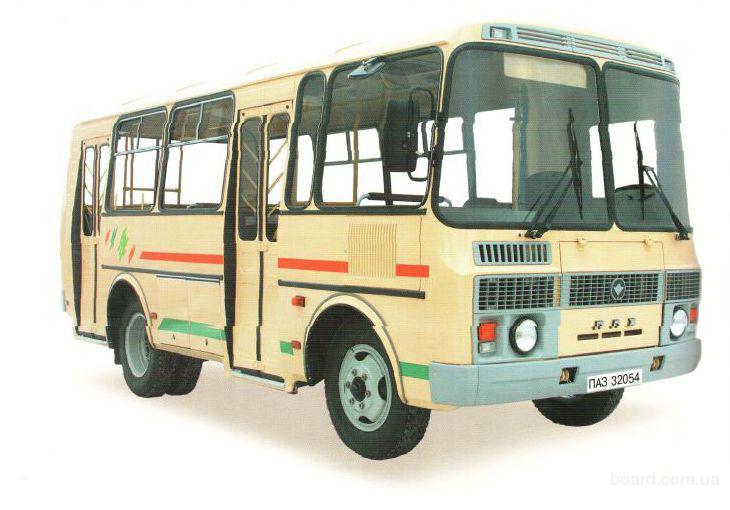 Пригородный автобус ПАЗ 32053-07 сиденья с ремн. без.