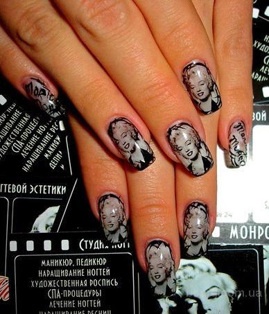 Наклейки на ногти фото украина