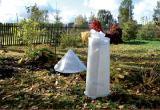 Укрывной материал, защита растений, кустарников от сильных заморозков, ветров, града