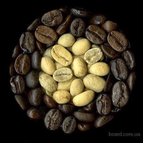 Продажа кофе зеленого и жаренного (в зерне и молотый)
