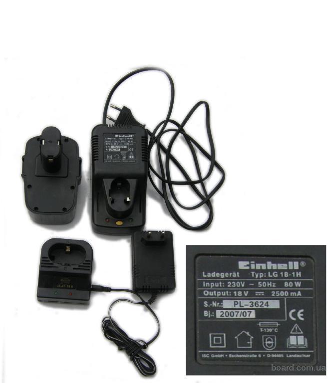 ПРОДАМ аккумуляторы и зарядные устройства для шуруповертов 18 v, 14.4v, 12v цена 67 грн.  Торговый Дом КОСИКОСА.