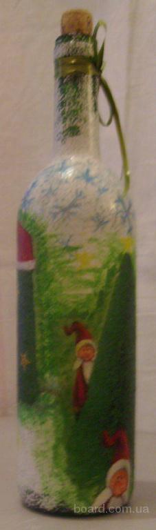 Сувенирные бутылки.