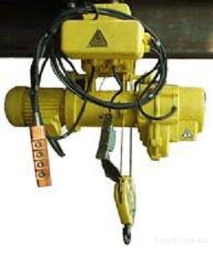 Таль электрическая (тельфер) г/п 0,5т Н=6-20м скорость подъема 8м/мин.