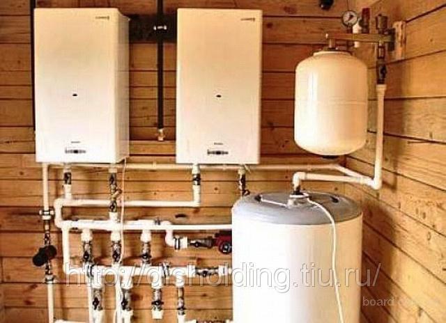 Рис.1. Автономная система водяного отопления дома.  Итак, начнем.  Обогрев - в общем случае, мы так будем назвать...