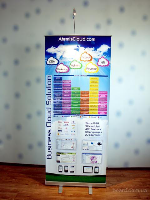 Мобильные рекламные конструкции  Roll Up