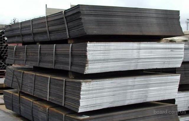 Лист 4 и 5 мм ст.3СП и 09Г2С со склада в Днепре.