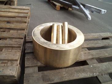 Труба медная, втулка М1;2;3; Ф120х20 - Ф500х200мм в ассортименте