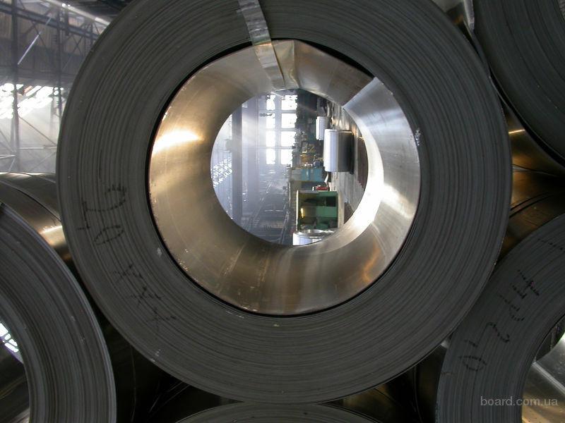 Лента ст 08КП; ст65Г 0,3 - 2,0мм  в ассортименте